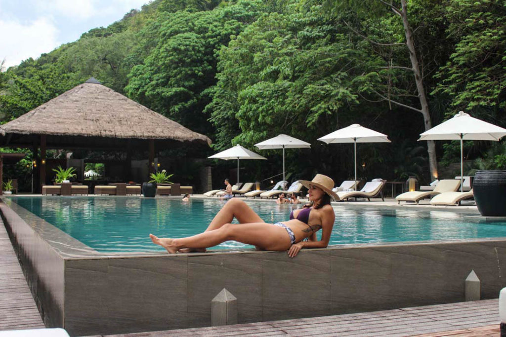 A top hotel and a great spa is what makes Pangulasian one of the most romantic places in the Philippines.