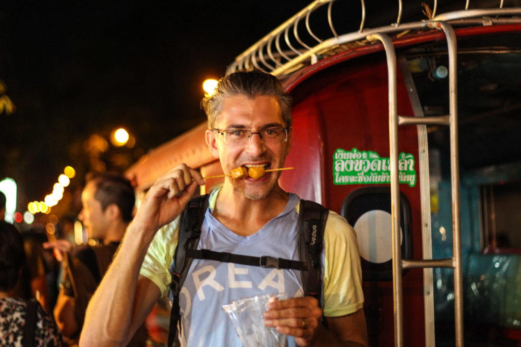 Don't be afraid! Go Local! The list of travel hacks to Southeast Asia includes eating street food!
