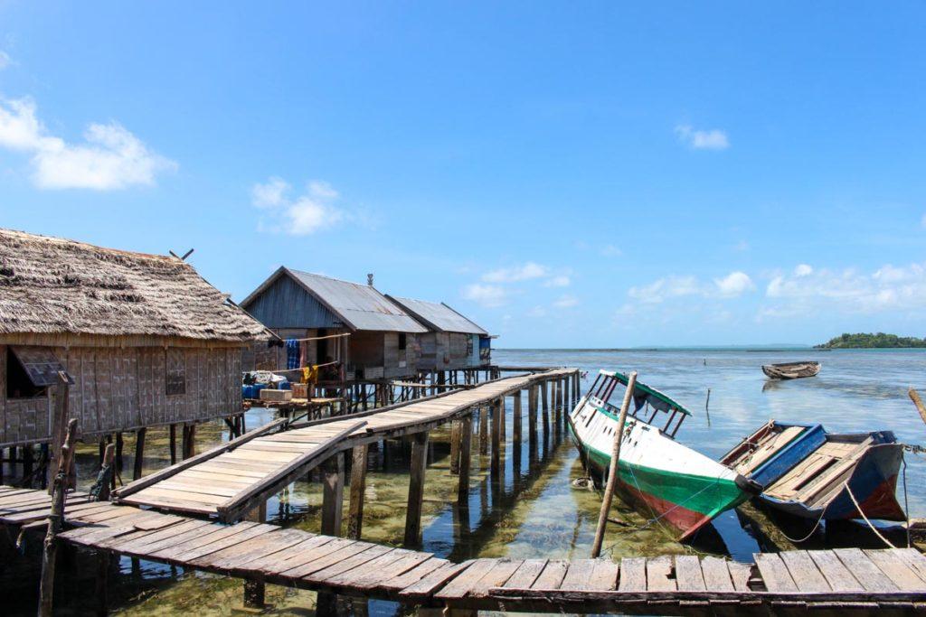 Na Tribo Bajo a vida é simples e dura, a existencia depende do mar.
