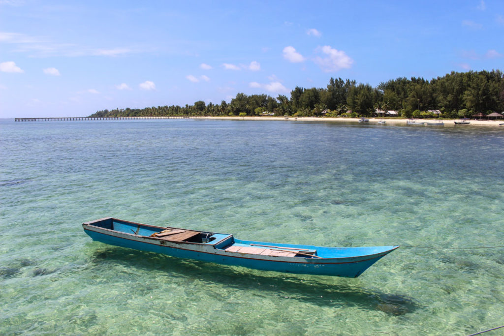 Hoga Islands is one of the hidden gems in Wakatobi Islands Marine Park, Indonesia.