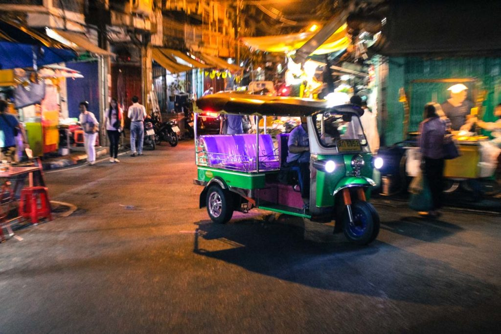 Travel tips for your first time in Bangkok, how to get around and use the public transportation.
