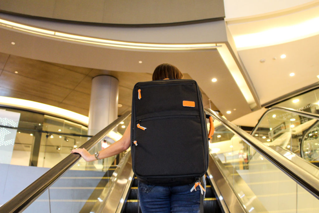 The best backpack for travel needs to fit your necessities and style of travelling. We love the carry-on size of our backpack and the urban design.