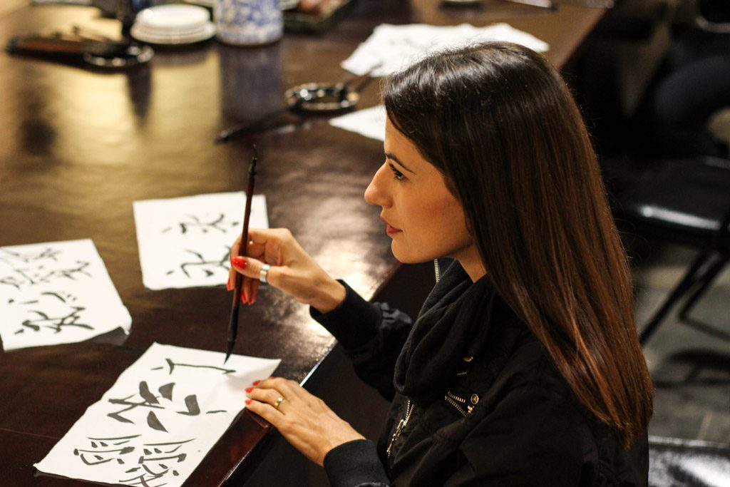 Try your artistic skill during a Chinese Calligraphy class, one of the hardest things to do in Xi'an, but was amazing to learn the history and the culture.