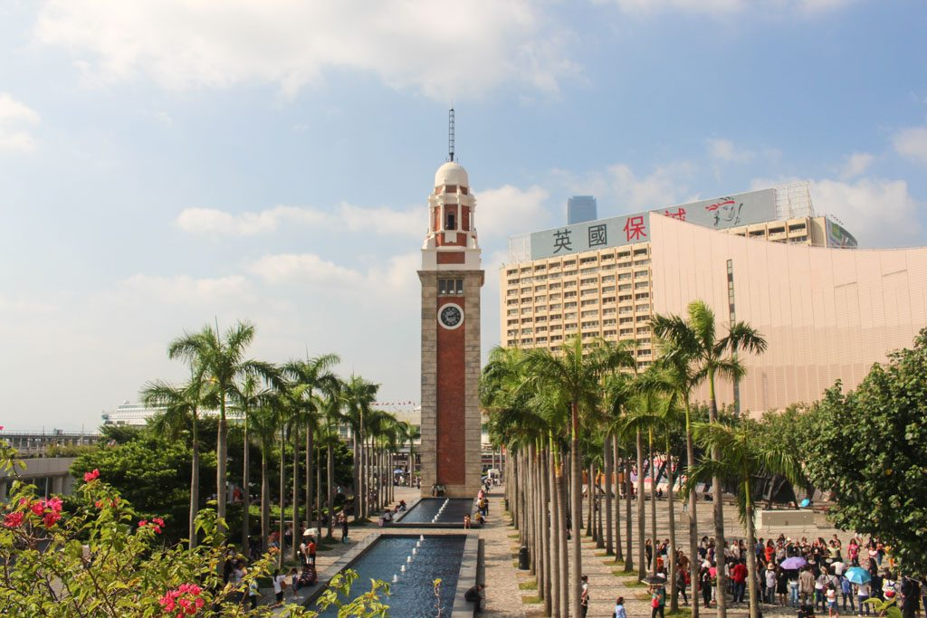 The clock tower is one of the main attractions in Hong Kong, you itinerary will pas by there many times.