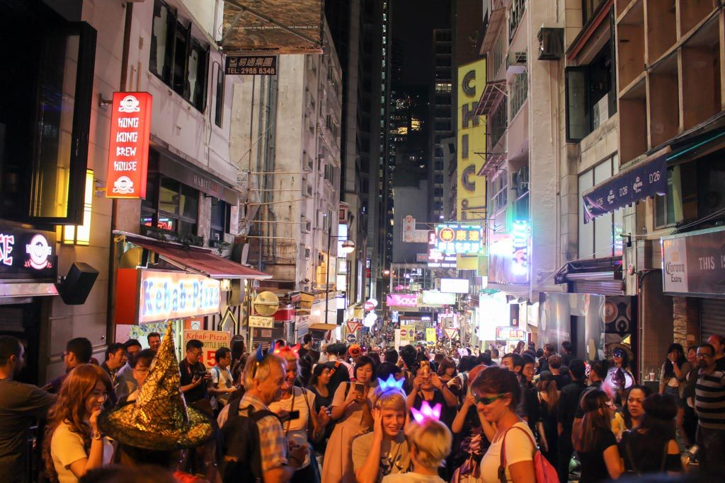 Leave so extra time on your Hong Kong itinerary to enjoy the nightlife of the city.
