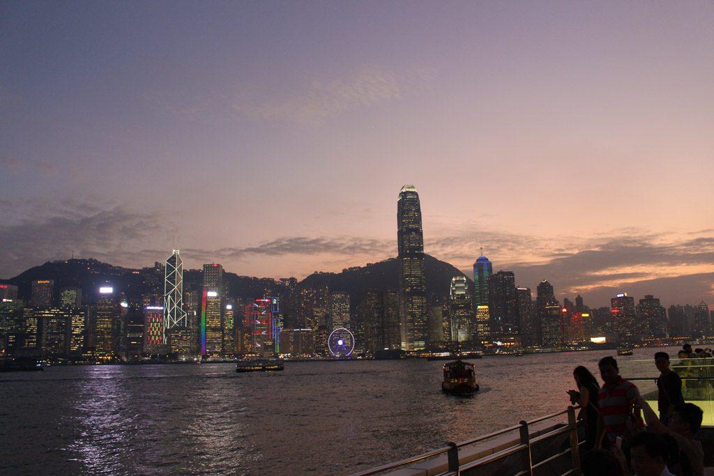 Hong Kong skyline is amazing!