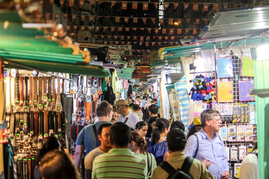You Hong Kong itinerary is not complete without a stroll around the Temple Night Market.