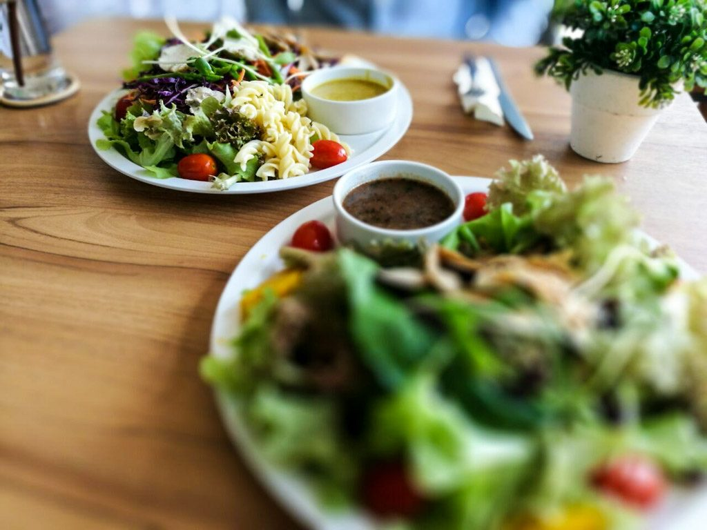 What to do in Chiang Mai that is healthy? Try the Salad Concept restaurant.