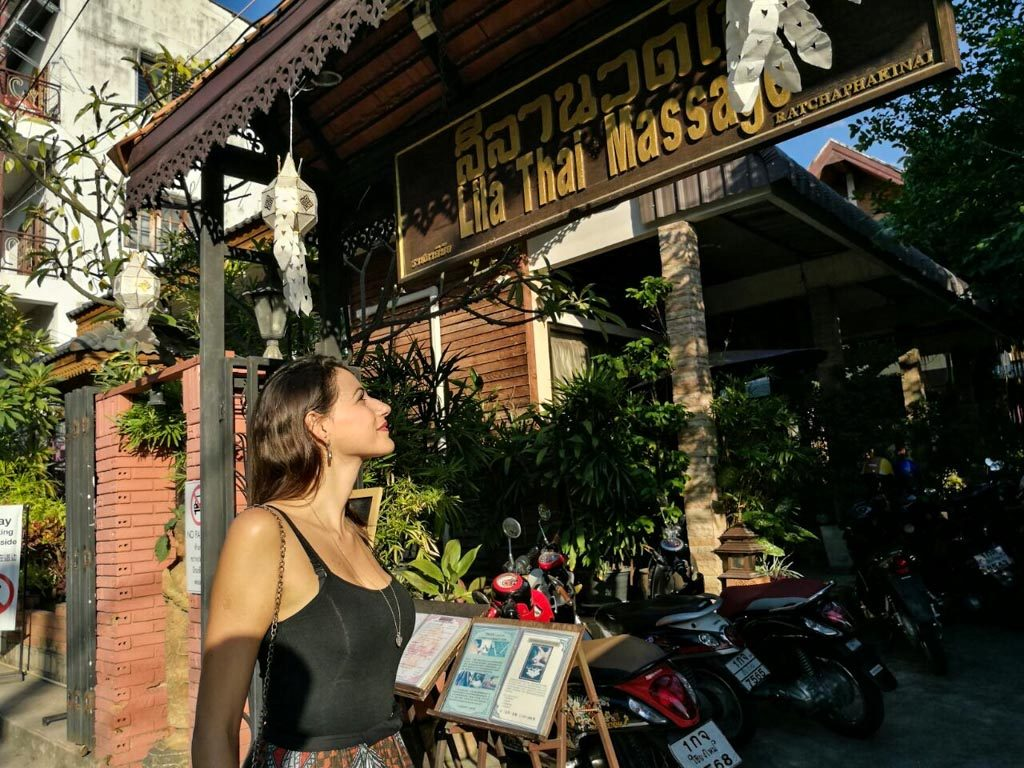 What to do in Chiang Mai to relax? A good massage!