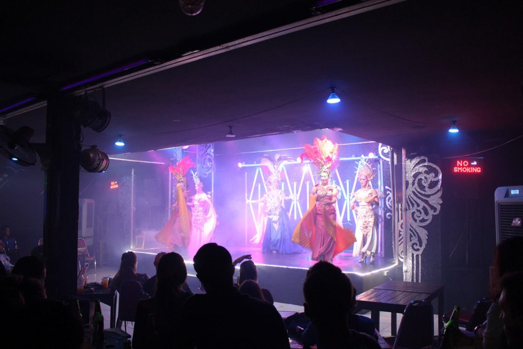 The Ladyboy's Cabaret is a must visit attraction on your what to do in Chiang Mai list.