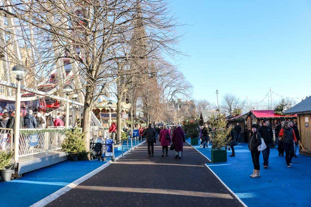 Durante as comemorações do Ano novo em Edimburgo a cidade respira música e artes, com eventos acontecendo todos os dias.