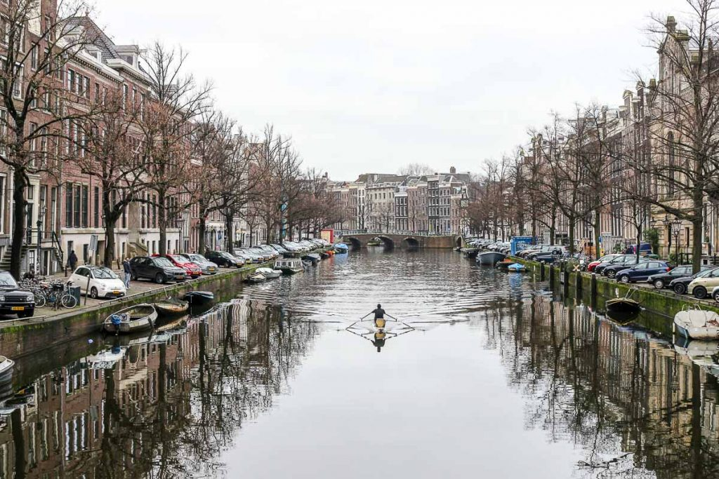 Don't forget to walk around the city, even during the winter. Amsterdam is beautiful!