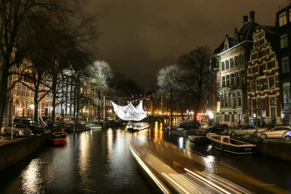 The Festival of Light is amazing, on 3 days in Amsterdam we saw many of the installations by the canals.