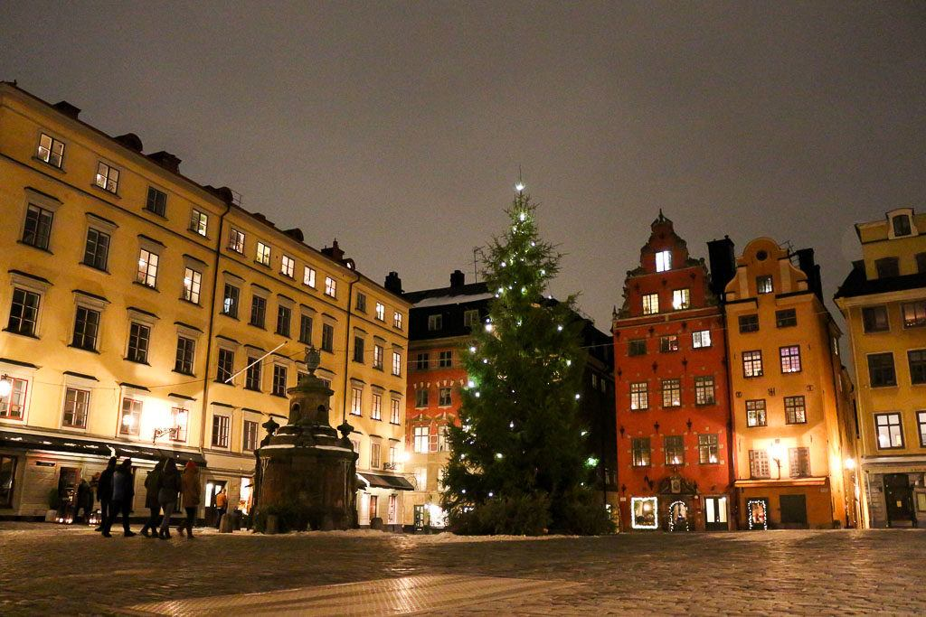 One of the best places to stay in Stockholm is the Gamla Stan area.