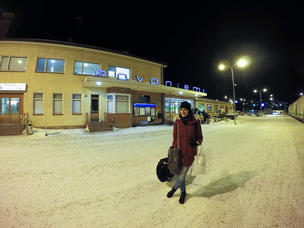 Rovaniemi is well connected with international flights, bus and train routes.