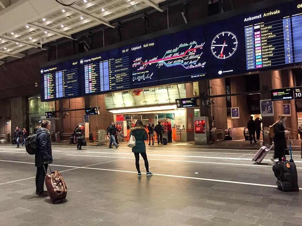 If you need to book a seat or a sleep cabin you can do it at the train station in any of the countries. Finland, Sweden, Denmark and Norway are included on the Eurail Scandinavia Pass.