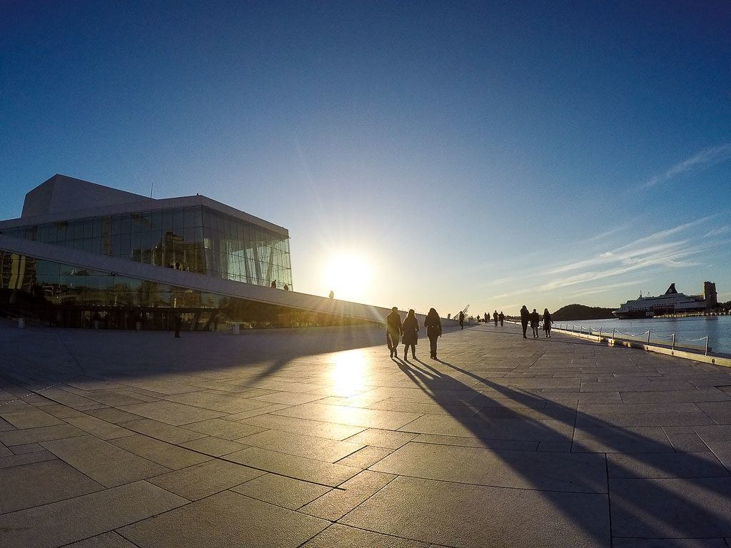 Oslo in Norway is where we started our trip with the Eurail Scandinavia Pass.