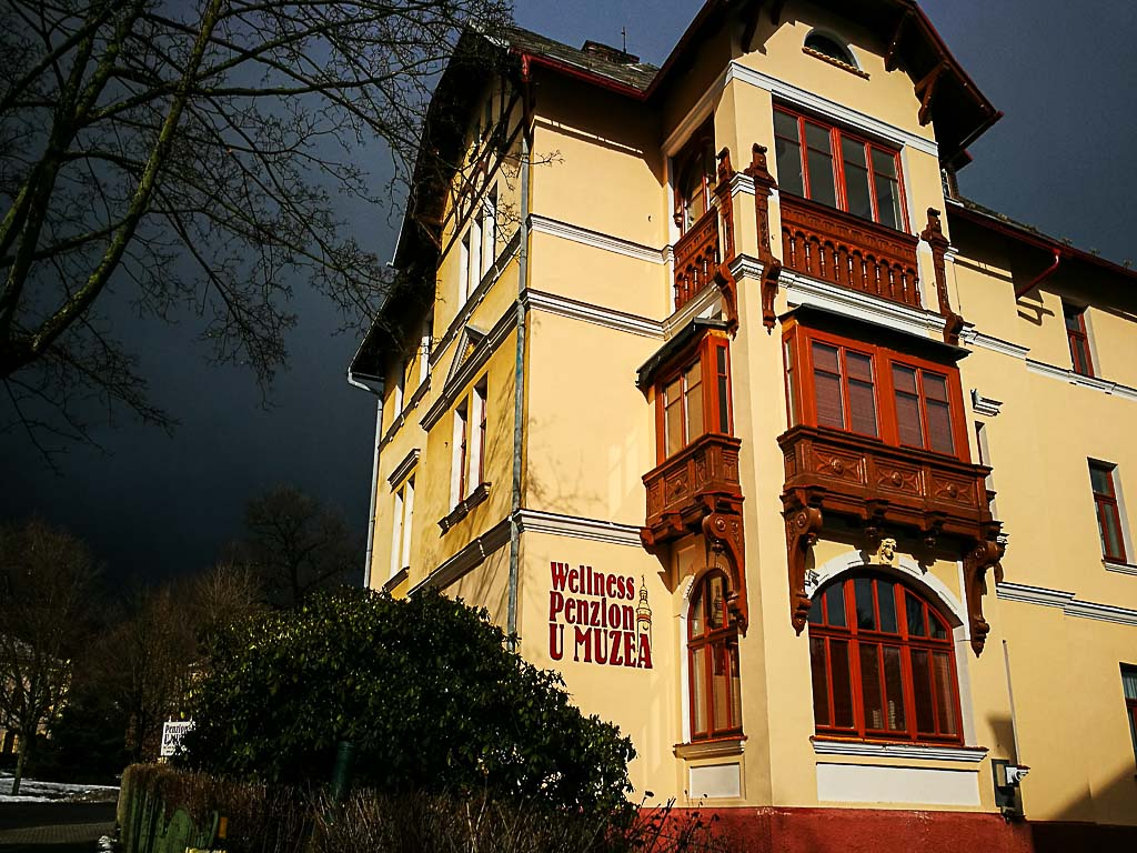 For us, one of the best places to stay in Liberec is the lovely Penzion U Muzea, thumbs up for their wellness spa.