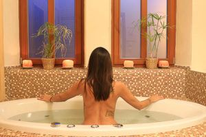 The wellness centers are a great way to relax and recover from the winter sports in Liberec.
