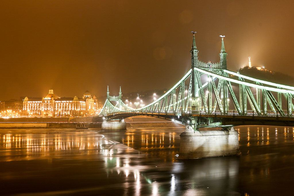 The bridges are some of the most visited places in Budapest, in 3 days you can see them during day and night.