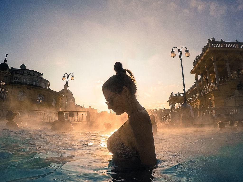 A 3 days trip to Budapest is not complete without a visit to a Thermal Bath, relax in the middle of the busy city.