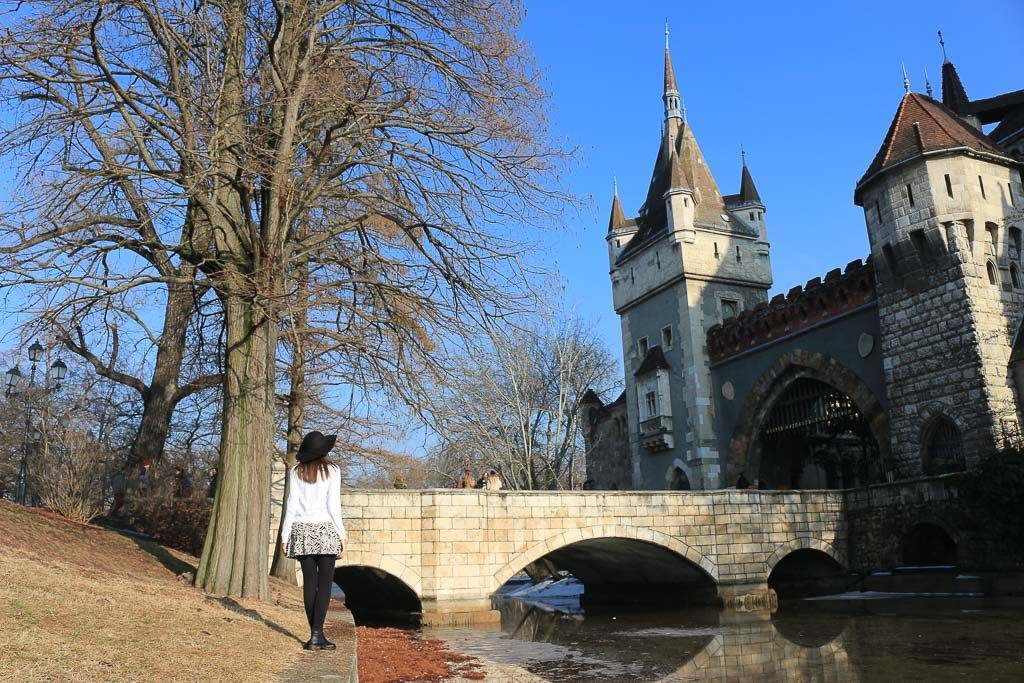 Vajdahunyad Castle is the perfect spot for photos in Budapest.
