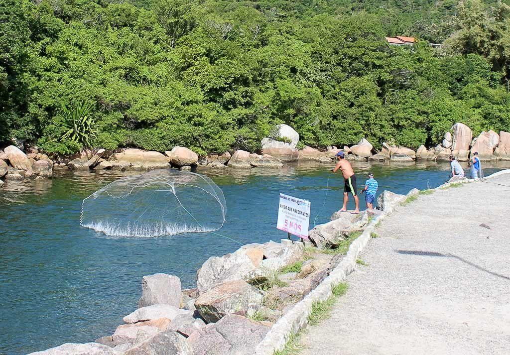 Far from the touristic hotspots, the neighbourhood Barra da Lagoa is a hidden gem in Florianópolis, Brazil.