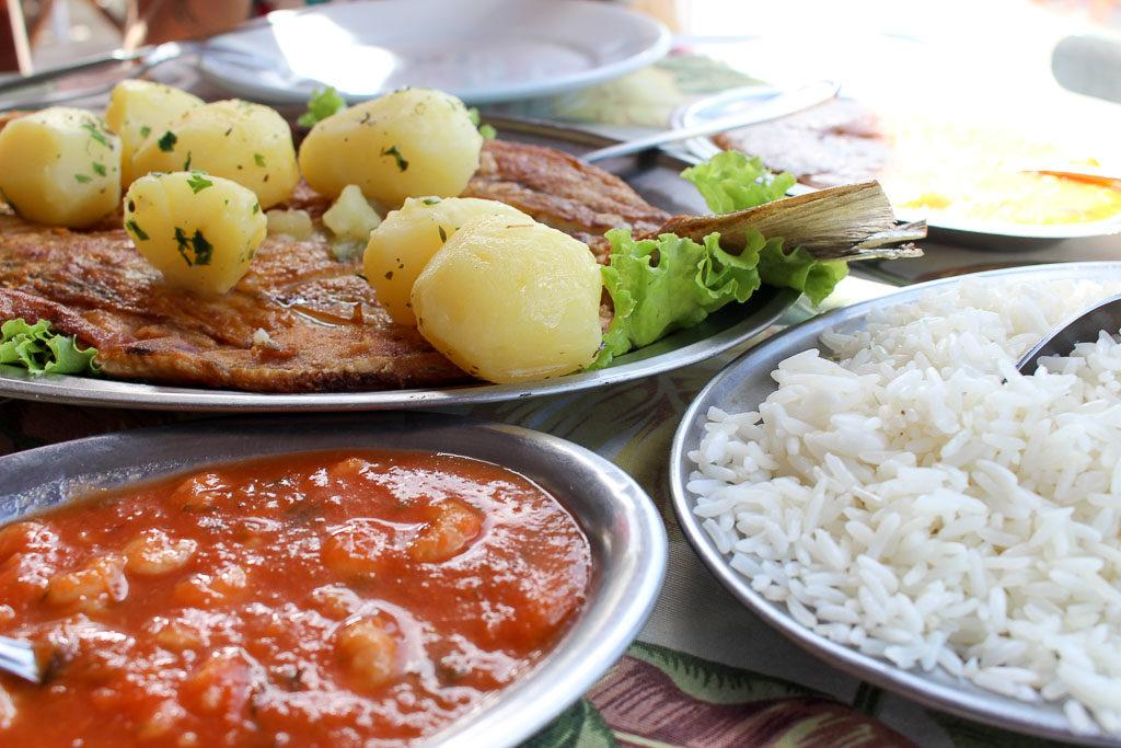 The traditional food in Florianópolis is the seafood. Simple dishes but full of flavour.