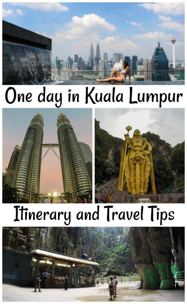 Travel tips and what to do in one day in Kuala Lumpur, Malaysia! Itinerary and how to make the most of your 24 hours in KL. Hotel tips and how to get around Kuala Lumpur.