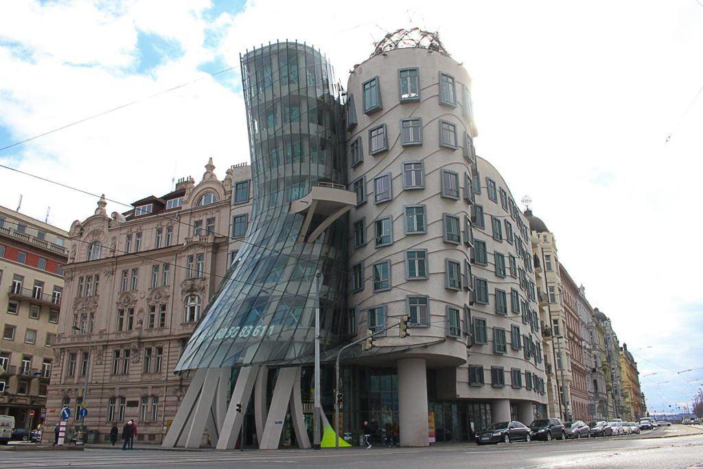 O que fazer em Praga: a Casa Dançante é um dos lugares mais visitados em Praga, República Tcheca.