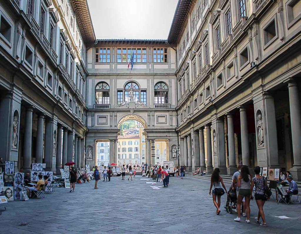 The Gallery Uffizi is one of the most famous museums in Florence and Italy. You must book your ticket in advance so you can visit it during your one day trip to Florence.