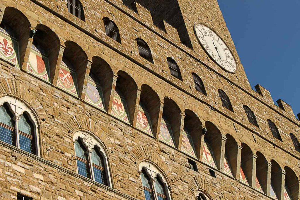One of the best places to visit in Florence in a day is the Palazzo Vecchio.
