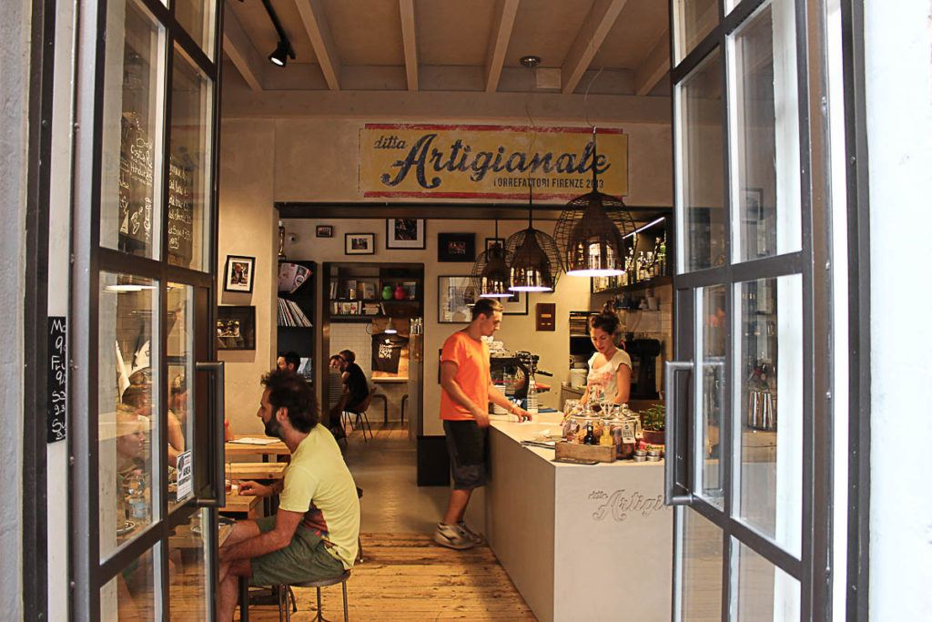 Visit all the best museums in Florence will make you hungry, take time to visit some of the charming cafes in the city.