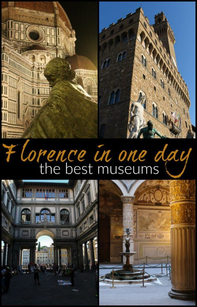 Recommendations to enjoy the best museums in Florence and attractions in only one day in the city. Tips on how to plan your itinerary, how to choose the best museums to visit in Florence, and how to buy your tickets in advance, so you won't spend time queuing. #Italy #Tuscany #Florence #florencemuseum #traveltips