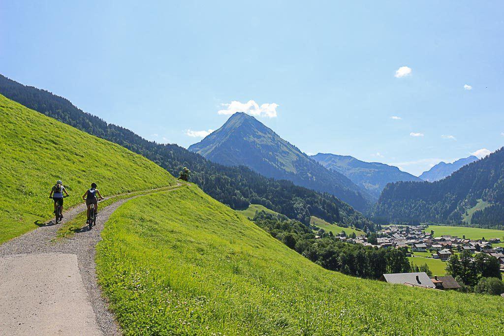 Mountain bike is another top thing to do in Bregenzerwald, Vorarlbeg - Austria.