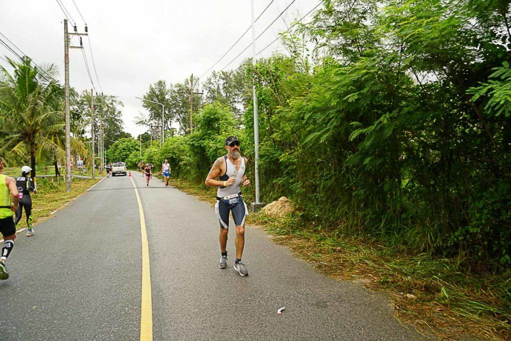 Running the Ironman Thailand was an achievement after so many months training for it.