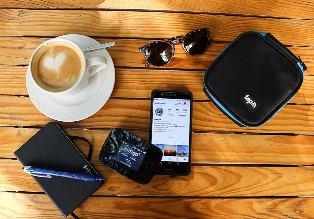 Tep Wireless international pocket wifi is so small that can fit in any bag or pocket.