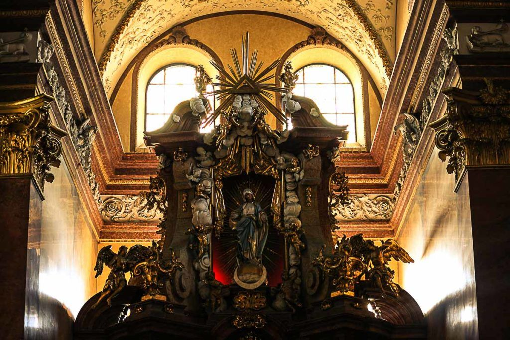 Don't forget to visit the churches, admire the Baroque architecture is one of the top things to do in Olomouc, Czech Republic.