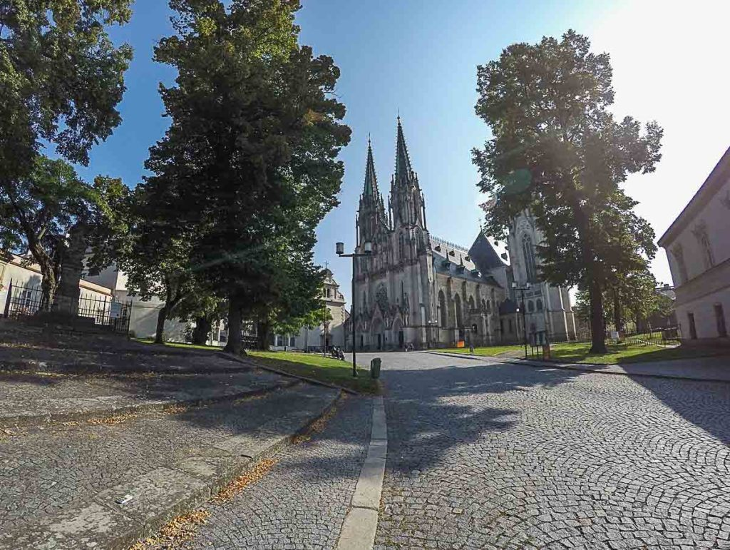 St. Wenceslau is the second tallest cathedral in the Czech Republic and one of the top attraction in Olomouc.