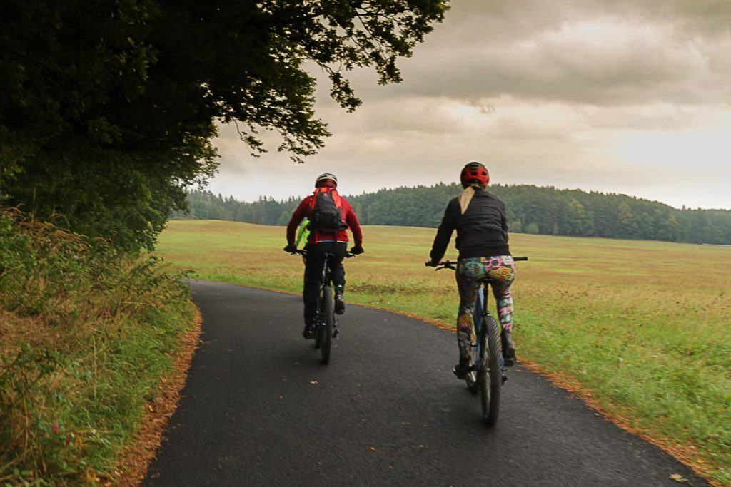 Jeseníky Mountains is an adventure paradise with mountain bike trails, hiking and horse riding.