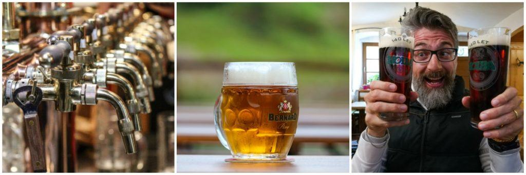 Beers tasting, a must do in Olomouc and in Czech Republic. There are many good breweries in Olomouc.