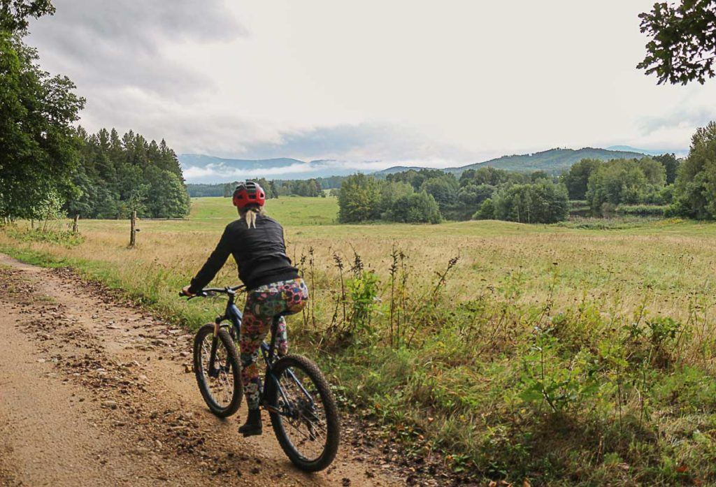 Mountain bike is one of the top things to do in Jeseníky Mountains. They have the best mountain bike trails in the Czech Republic.