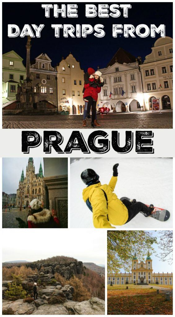Discover the Czech Republic beyond Prague! Follow our travel tips to the best day trips from Prague. Where to go near Pague, how to get there and what to do! We listed 9 of the top trips you can do from Prague, including castles, romantic towns, winter sports and adventure. Let the Czech Republic countryside surprise you with its history, beauty, good food and beer. #VisitCZ #CzechRepublic #Prague #daytrips #TravelItinerary #TravelTips #Europe