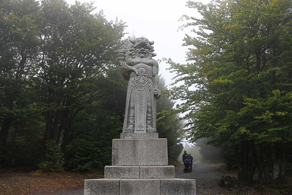 Enjoy your day trip from Ostrava and meet the God Radhošť, a pagan God that lives on the top of the mountains.