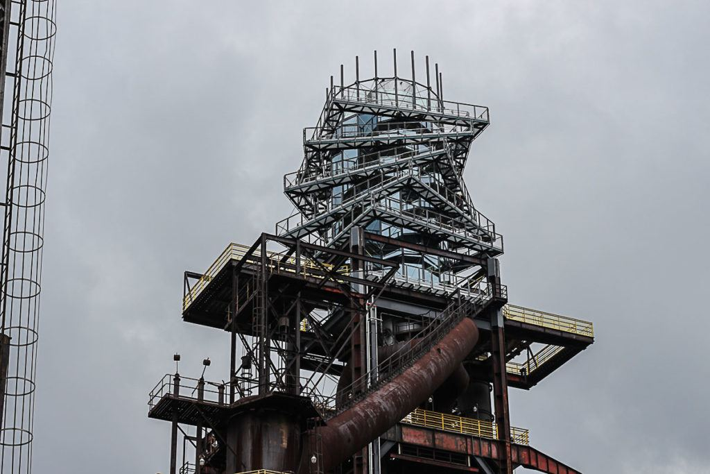 A Torre Bolt é um dos lugares mais legais para visitar em Ostrava, a arquitetura é super diferente e o visual lá de cima é incrível.