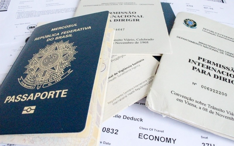 Not only visas, but get all your travel documents ready in advance.