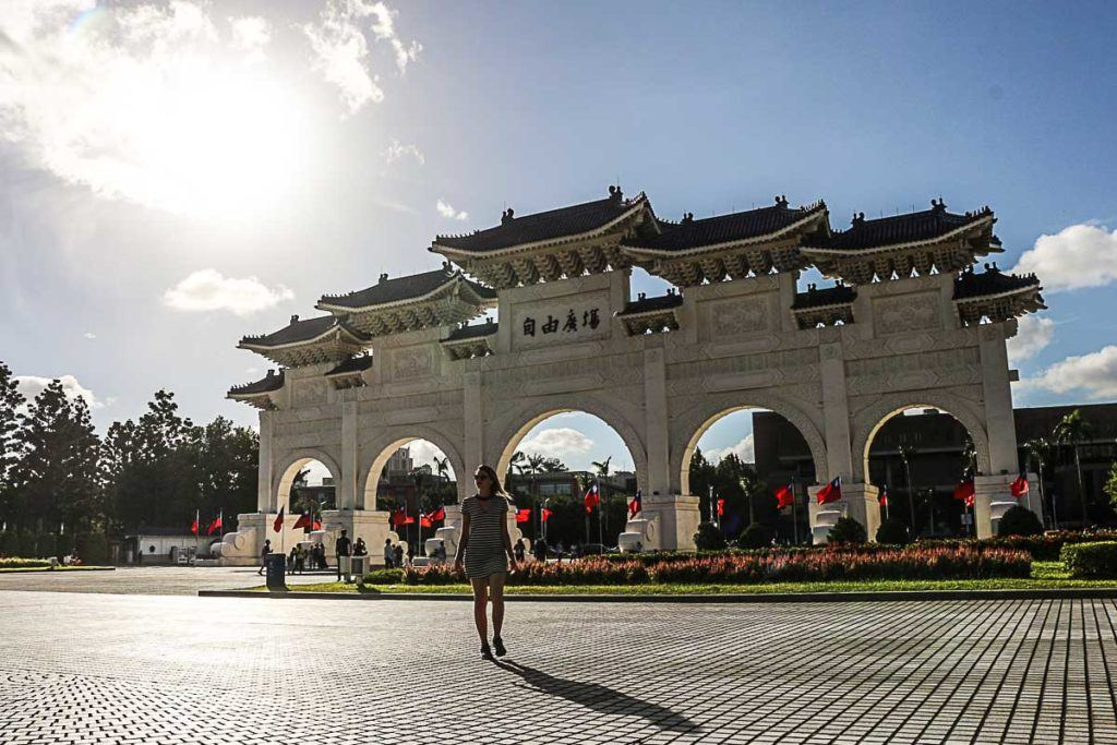 On the second day of your Taipei Itinerary visit the beautiful Chiang Kai-shek Memorial.