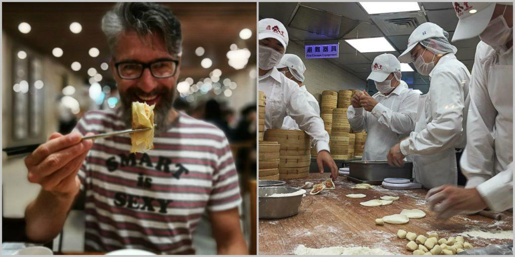 For us the best restaurant in Taipei is the Din Tai Fung.