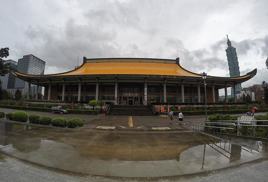 First attraction on our Taipei Itinerary is the beautiful Sun Yat-sen Memorial Hall