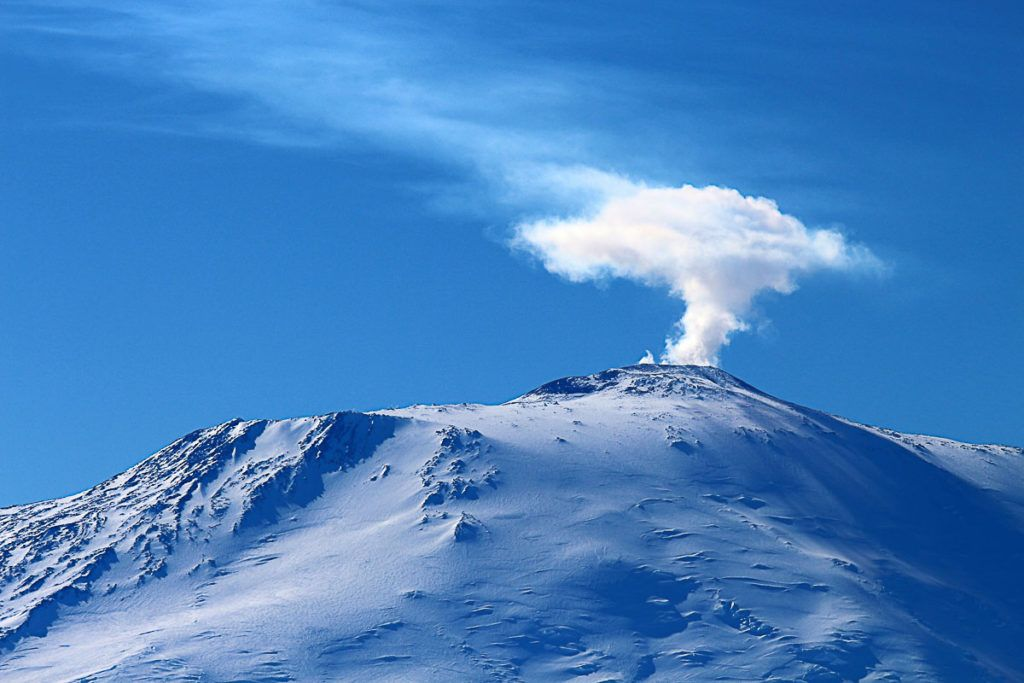 Can you believe there are volcanoes in Antarctica? It's true!